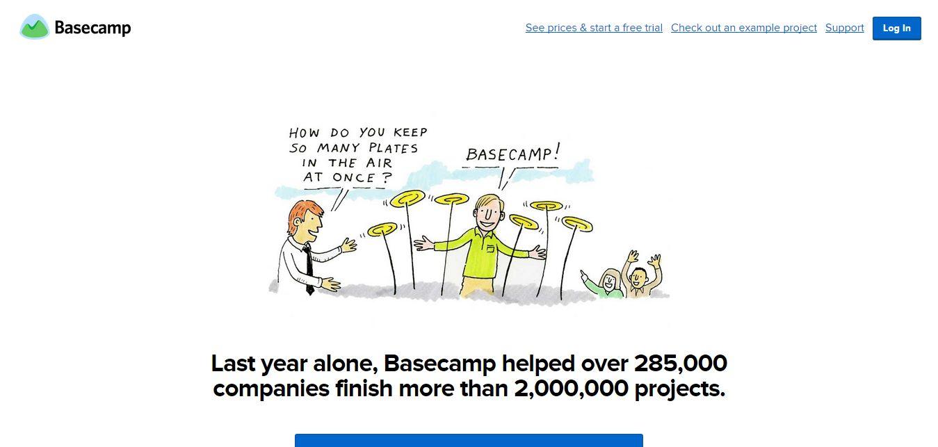 BaseCamp Clone Script