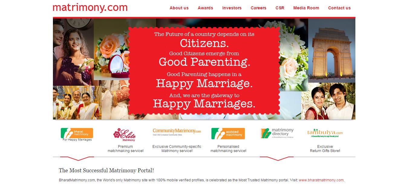 Matrimony Clone Script