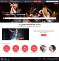 Customizable Music Portal Clone Script