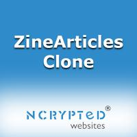 EzineArticles Clone - An Article Websites Clone